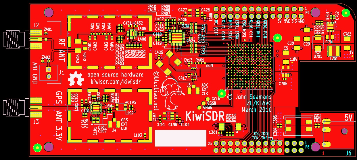 KiwiSDR: BeagleBone Software-defined Radio (SDR) with GPS by Valent